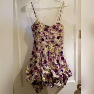 5 for $25 As U Wish Floral Ruffled Dress